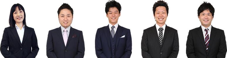 紹介するメンバーの写真